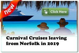 Carnival Cruises Out of Norfolk 2019/2020